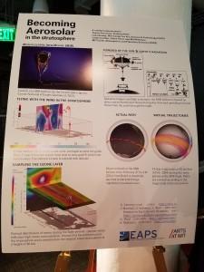 The science behind Aerocene (Photo: Lauren Hinkel)