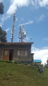 The Rwanda Climate Observatory on Mt. Mugogo (Photo: Gunver Vestergaard)